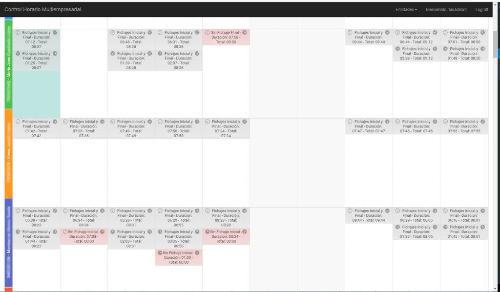 Control horario para registro de jornada según las leyes vigentes