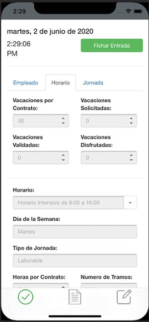 Ingeniatec Control Horario