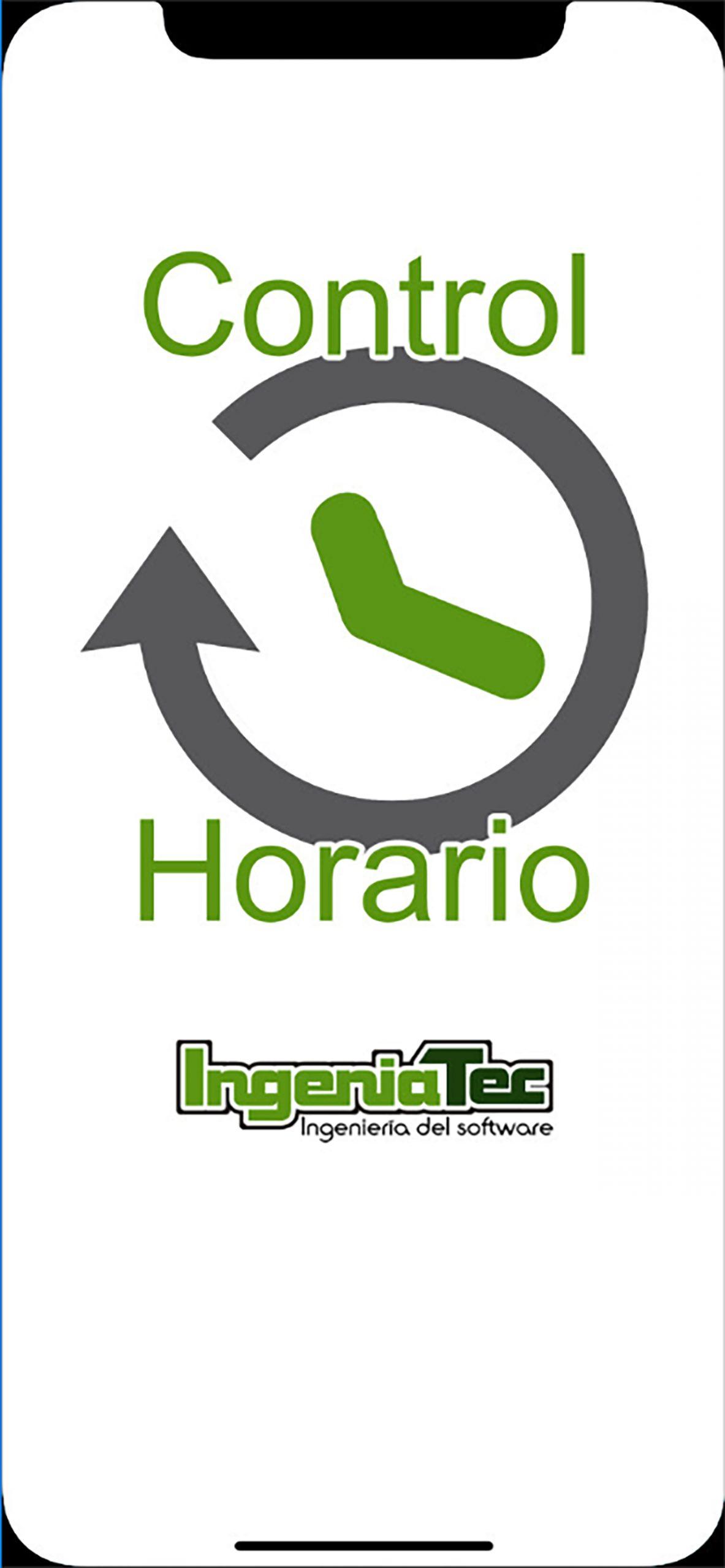 Ingeniatec Control Horario. Pantalla de carga